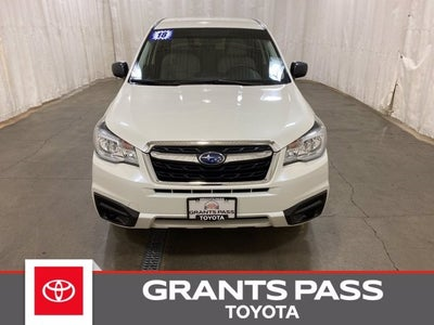 used 2018 subaru forester 2 5i grants pass or jf2sjaac4jg569691 2018 subaru forester 2 5i